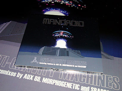 Mandroid - Anti-Gravity Machines CD